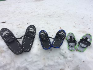 Snowshoes rentals at Island Lake Conservation Area