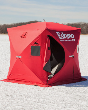 Portable Ice Hut Rental