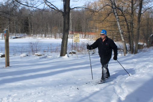 Cross Country Skiing at Terra Cotta Conservation Area
